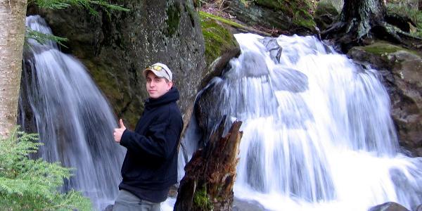 Rev Mike along Bent Run.