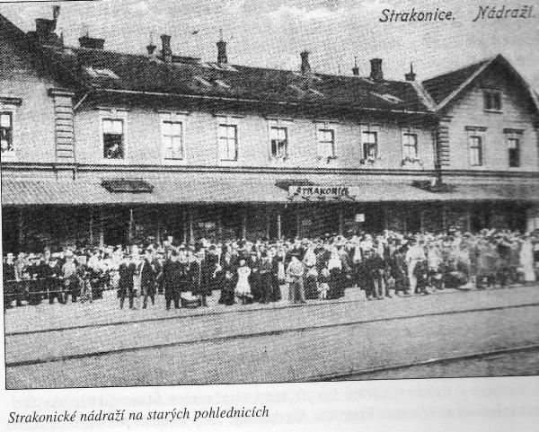 strakonické nádraží