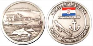 Tonayos Croatia Caching Geocoin