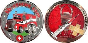 TB-Rescue Geocoin