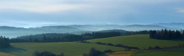 Panorama Šumavy