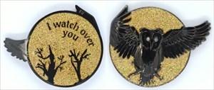 Olanda the Owl Geocoin - Lunar Eclipse LE 200