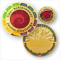 LordT's Jasmer Challenge Geo-Achievement Geocoin