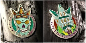 King of Lost Place Geocoin - King Florida