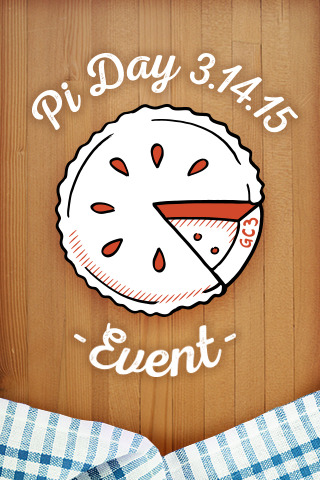 Pi Day 3.14.15 - Event