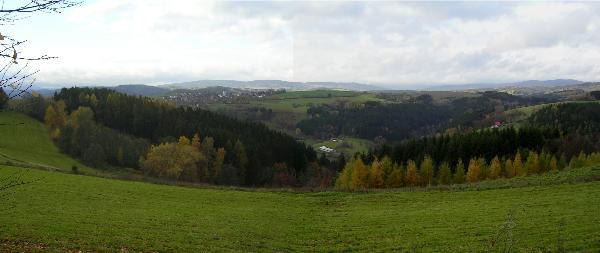 Pohled na Bozkov / View to Bozkov
