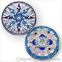 Compass Rose Geocoin 2011 - Midnight Sun
