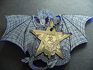 Midnight Dragon Edition Plexi Blau/Gold