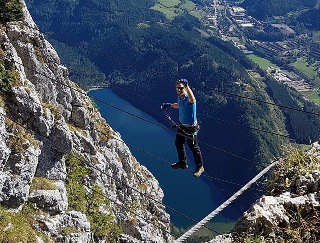Franz Josef Klettersteig : Gc14vc3 k.u.k. martyrium traditional cache in steiermark austria