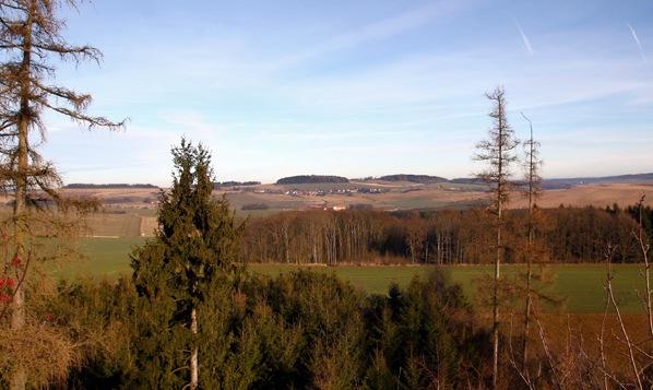 Pohled na sever