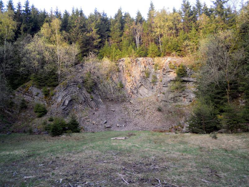 Faltensattel am Wetzstein