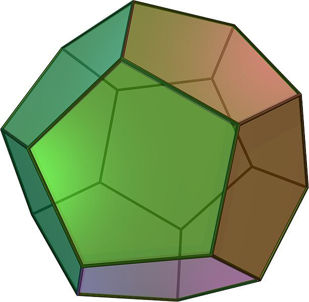 Platonska telesa - Dodekaedr
