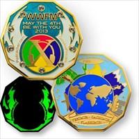 Fassenachterins WWFM-Flashmob Coin