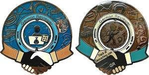 2018 German Reviewer Geocoin 2018 - both sides of