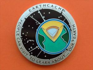Cache Type – Earthcache Geocoin
