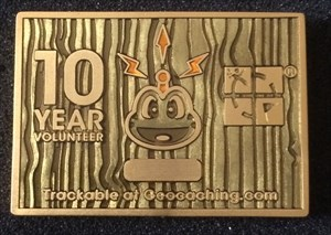 10 Years Volunteer Award