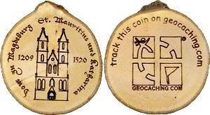 Magdeburger Dom - Holz Edition Geocoin