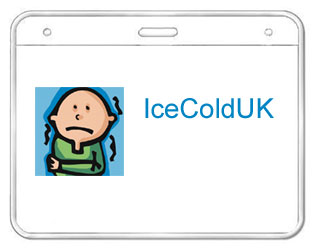 IceColdUK name badge