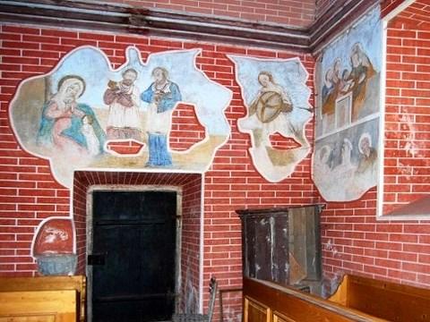 interiér kaple Loreta u Klatov