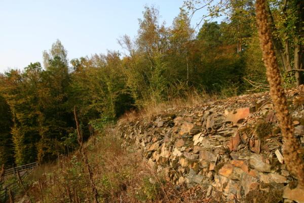 Násep koněspřežky v údolí Klíčavy