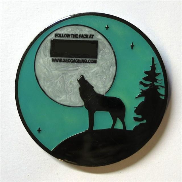Wolfpack Geocoin
