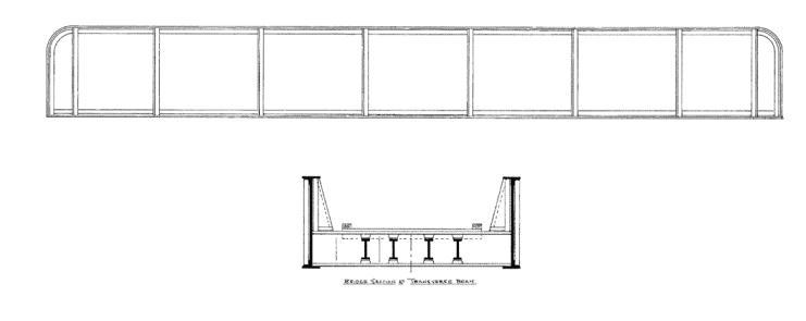 gc20zma bridge series  plate girder bridge  railroad   traditional cache  in washington  united