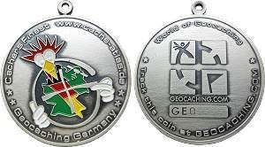 "Germany Geocoin ""Cache-Atlas"""