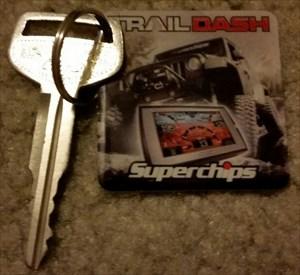 Superchips Tag w/key