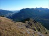 E along the ridge and Pigeon Mtn