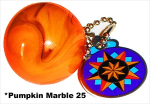 *Pumpkin Marble 25