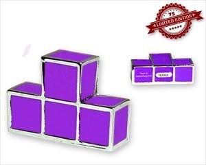Tetromino Geocoin - T - Purple XLE 75