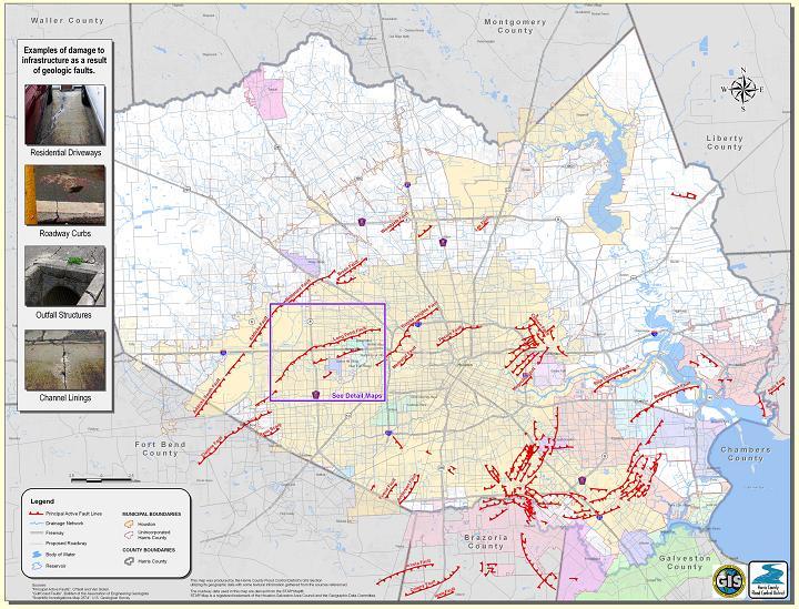 GC1QQ32 Long Point Fault Earthcache Earthcache in Texas United