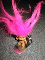 Pink Punky voor zijn reis