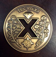 IronHorseReviewer 10 Years Reviewer Geocoin