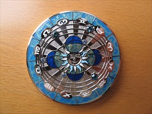 Compass Rose Geocoin 2011 - Midnight Sun