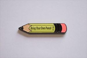 BYO Pencil Geocoin 1