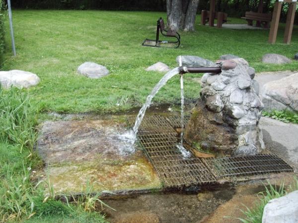 Gcp9gc flowing artesian well earthcache earthcache in for Creuser un puits dans son jardin