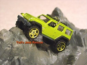 Ted's Jeep Rescue on the Rocks