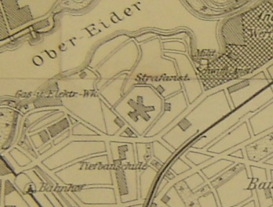 Stadtplan 1918