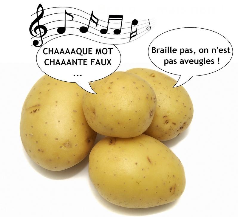 Chaaaaque mot chaaaante faux... Ta gueule !!!