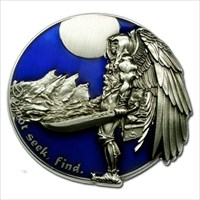 Front of Geocoin.