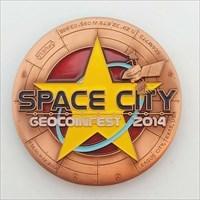 Geocoinfest 2014 Event Geocoin - Sponsor Ed fr