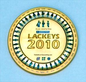 UTUL´s Lackey Geocoin