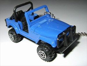 Blue Jeep 4x4