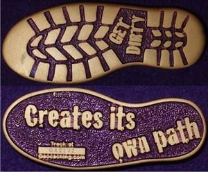 Creates its' own path