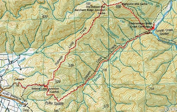 GC330YJ Marchant Ridge Track 50 / 50 (Wellington) (Traditional Cache