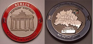 Berlin Geocoin 2006