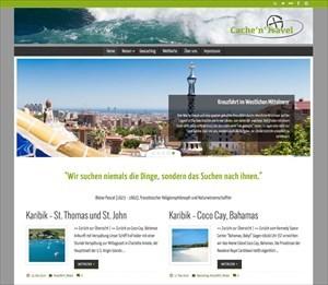 Cache'n'Travel Blog Website
