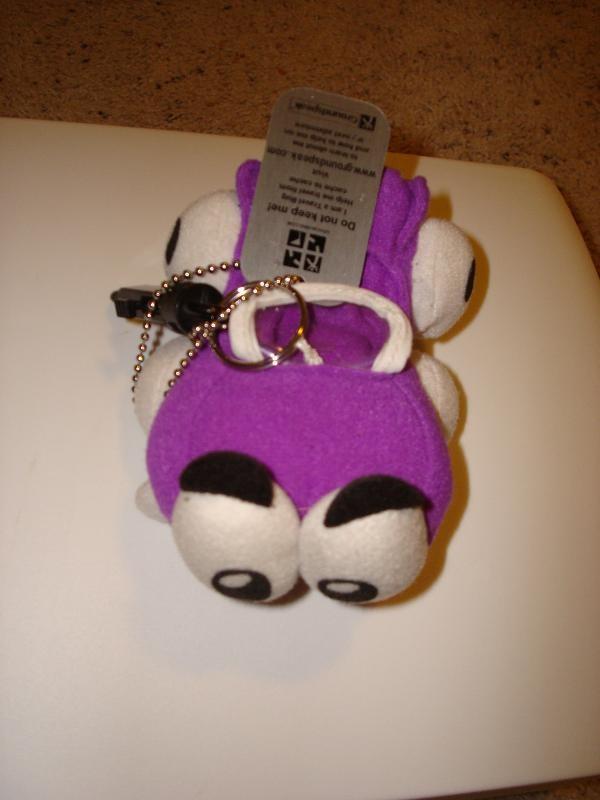 Putt Putt Car : Tb jty travel bug dog tag putt the purple car