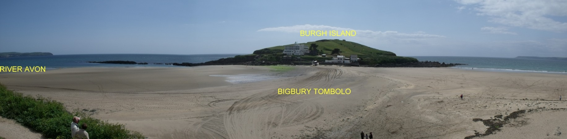 Gc2x36g bigbury beach tombolo earthcache in south west england bigbury beach located in the south hams area of devon is a fantastic example of a coastal sedimentary feature known as a tombolo pooptronica